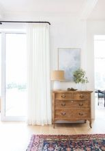 Beauty and Elegant White Curtain for Bedroom and Living Room 8
