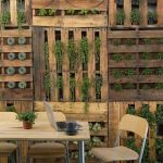 Cool Privacy Fence Wooden Design for Backyard 13