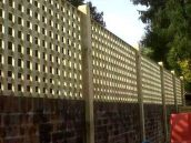 Cool Privacy Fence Wooden Design for Backyard 14