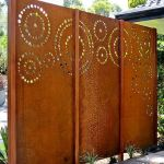Cool Privacy Fence Wooden Design for Backyard 42