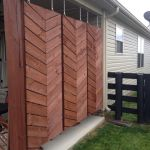 Cool Privacy Fence Wooden Design for Backyard 6