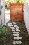 Cool Privacy Fence Wooden Design for Backyard 62