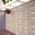 Cool Privacy Fence Wooden Design for Backyard 73
