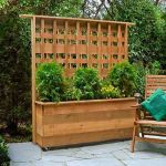 Cool Privacy Fence Wooden Design for Backyard 84