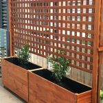 Cool Privacy Fence Wooden Design for Backyard 9