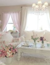 Cozy and Colorful Pastel Living Room Interior Style 13