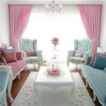 Cozy and Colorful Pastel Living Room Interior Style 25