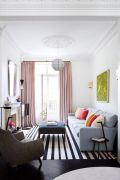 Cozy and Colorful Pastel Living Room Interior Style 35