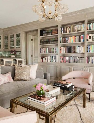 Cozy and Colorful Pastel Living Room Interior Style 43