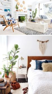 Modern Bohemian Home Decorations and Setup 59