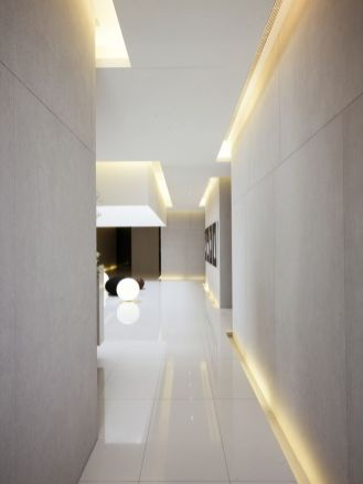 Modern Contemporary Led Strip Ceiling Light Design 11