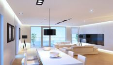 Modern Contemporary Led Strip Ceiling Light Design 24