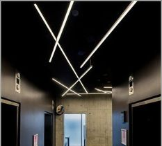 Modern Contemporary Led Strip Ceiling Light Design 25