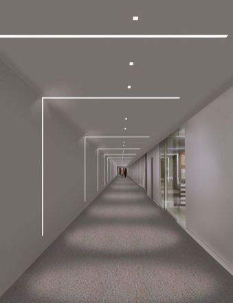Modern Contemporary Led Strip Ceiling Light Design 46