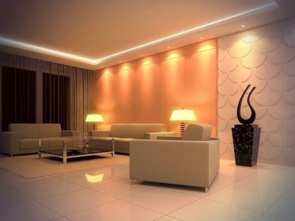 Modern Contemporary Led Strip Ceiling Light Design 6