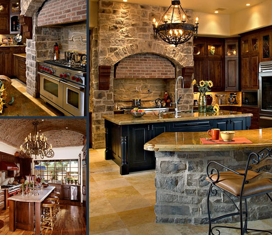 Here are some ideas you can implement to maximize space, improve aesthetics and ergonomics, and generally make your small kitchen a happier place. Rustic Italian Tuscan Style for Interior Decorations 11 ...