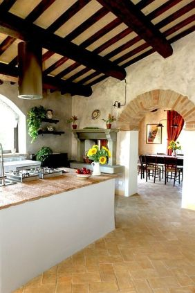 Rustic Italian Tuscan Style for Interior Decorations 14