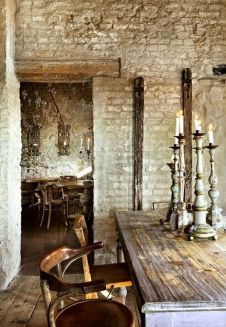 Rustic Italian Tuscan Style for Interior Decorations 22