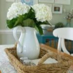 Spring Home Table Decorations Center Pieces 42