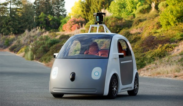 Google Driverless Vehicle Prototype