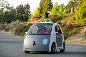 Google automated car prototype