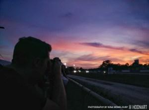 Shooting Sebring at Sunset