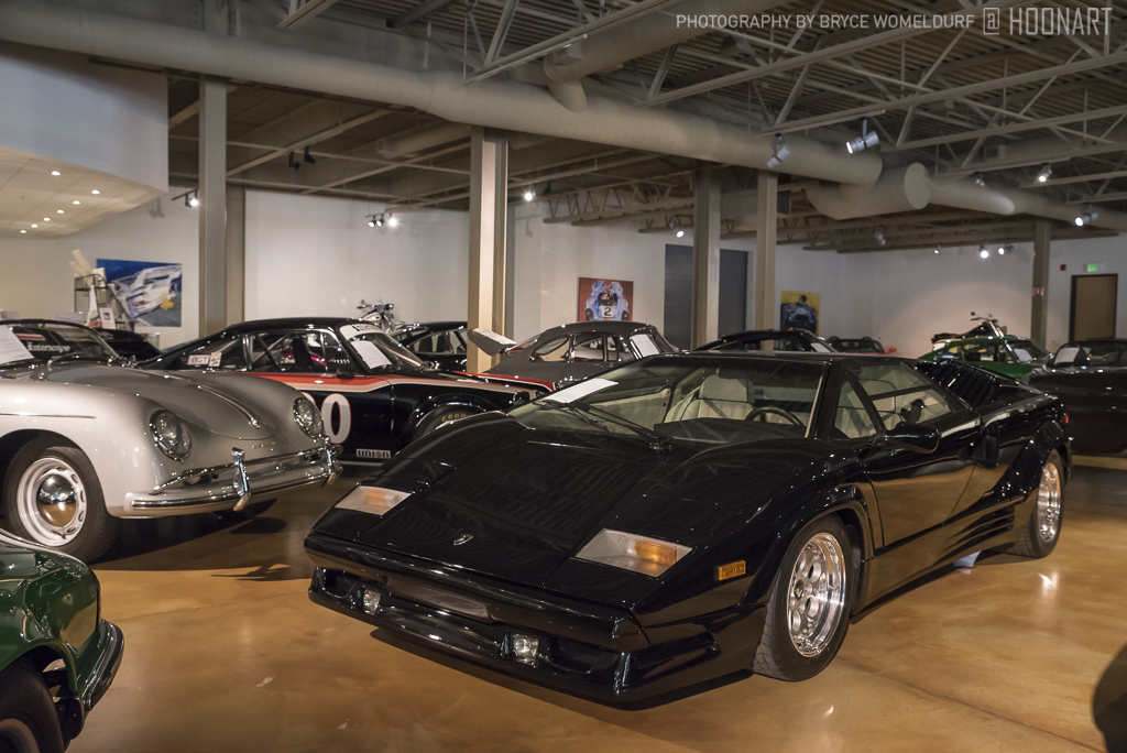 Lamborghini Countach 25th Anniversary Edition on display at Canepa Design.