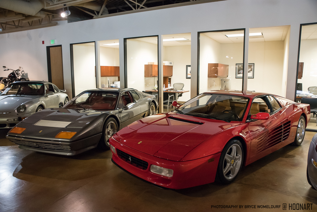 1992 Ferrari 512TR and 1981 512BB