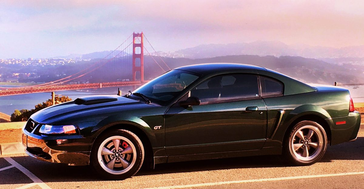 Bullitt Time: San Francisco in a 2001 Mustang Bullitt; 50 years later