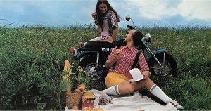 Vintage Suzuki VanVan