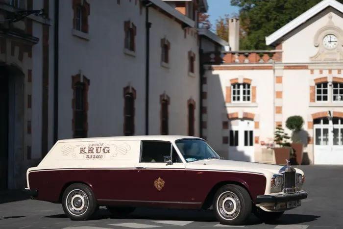 Krug Rolls Royce Wagon at Krug HQ