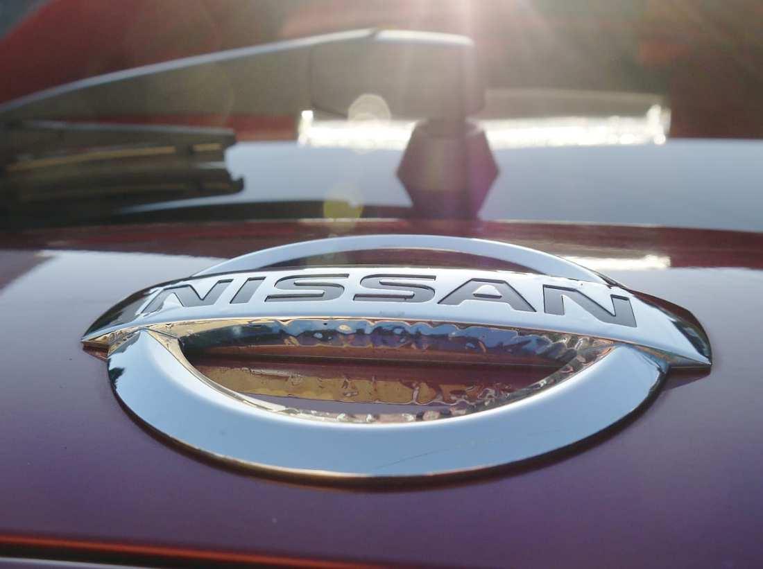 nissan leaf logo badge