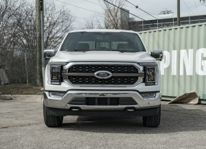 F-150 King Ranch PowerBoost front view