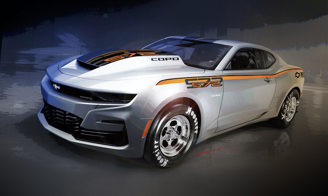 2022 Chevrolet COPO Camaro rendering