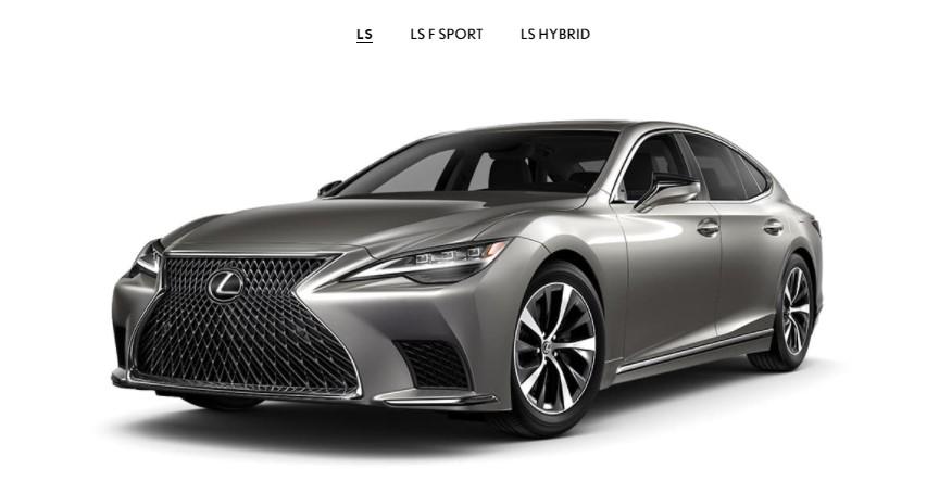 2021 Lexus LS 500