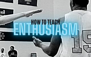 how to teach enthusiasm