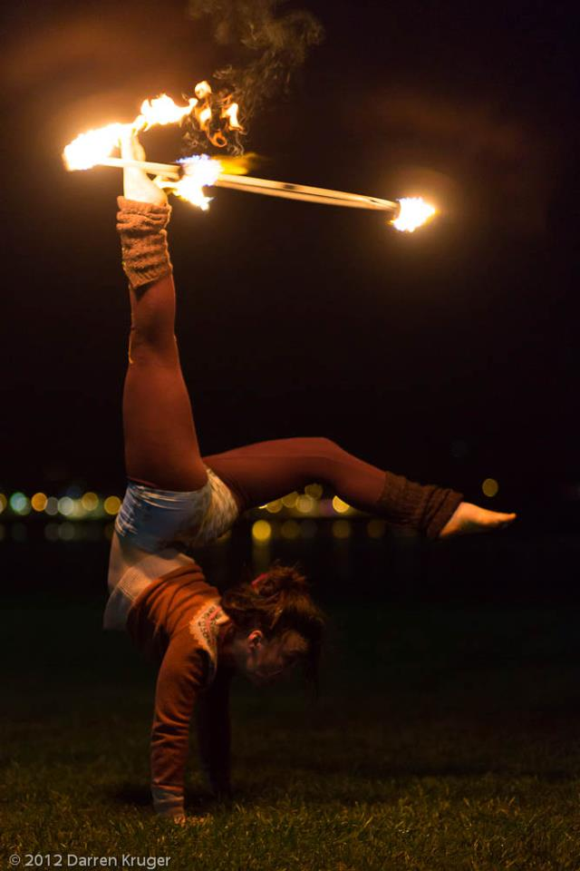 Hooping Handstands :: Mary Jane Schroeder