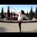 hula hoop tricks wedgie