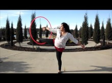 hula hoop tricks wedgie