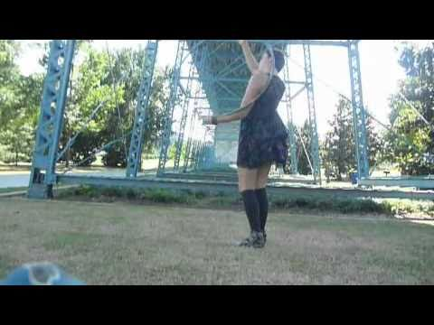 "Hula Hoop Tricks: ""Revolving Shoulder Roll"""