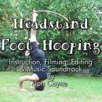 hooping headstand hula hoop tricks