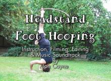 hooping headstand hula hoop tricks