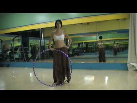 "Hula Hoop Tricks: ""Sustained Spinning"""