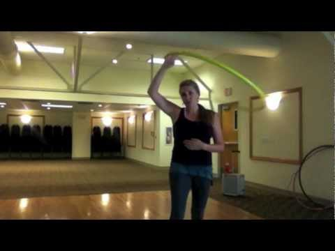"Hula Hoop Tricks: ""Hand Hooping"""