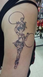 hoop girl