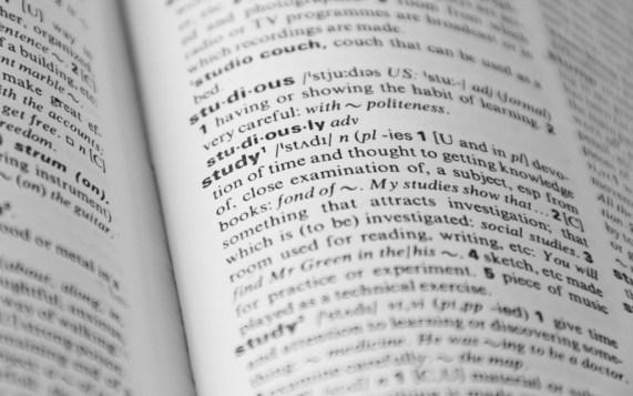 belajar dengan kamus