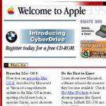 www.Apple.com circa 1997