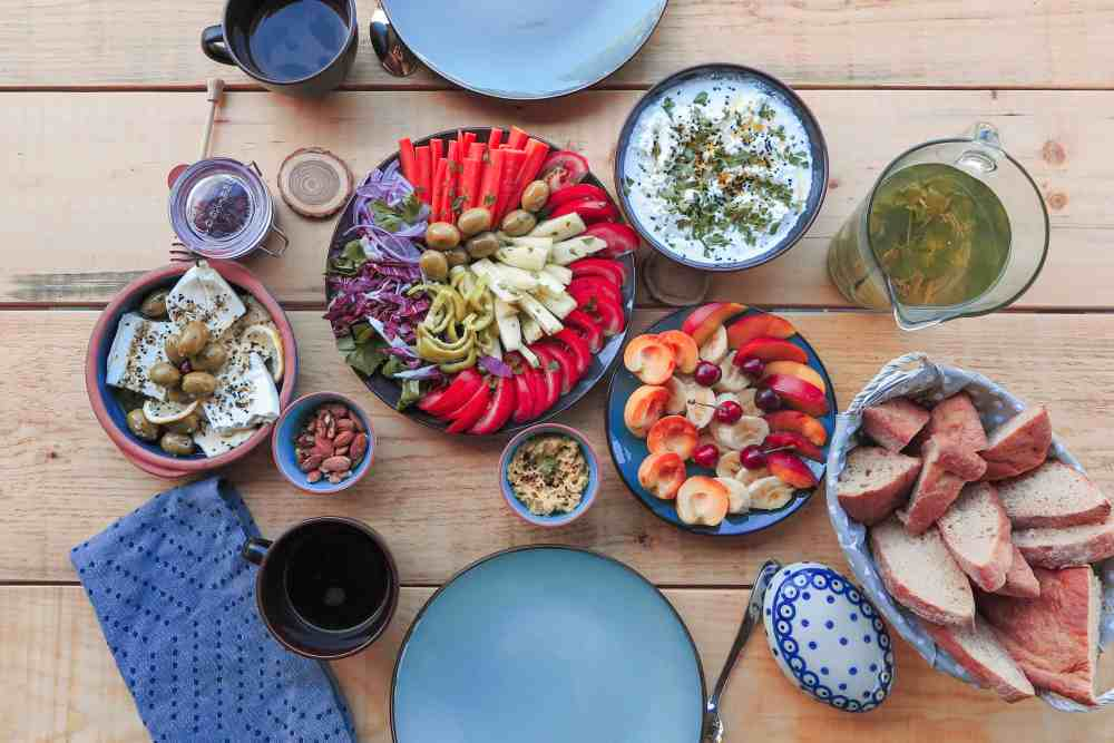 Local, organic food for vegan and vegeterian at Hoopoe Glamping and Adventures | Glamping in Montenegro