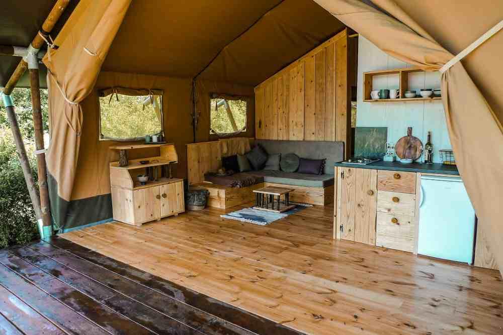 Safari Lodge at Hoopoe Glamping and Adventures near Skadar Lake