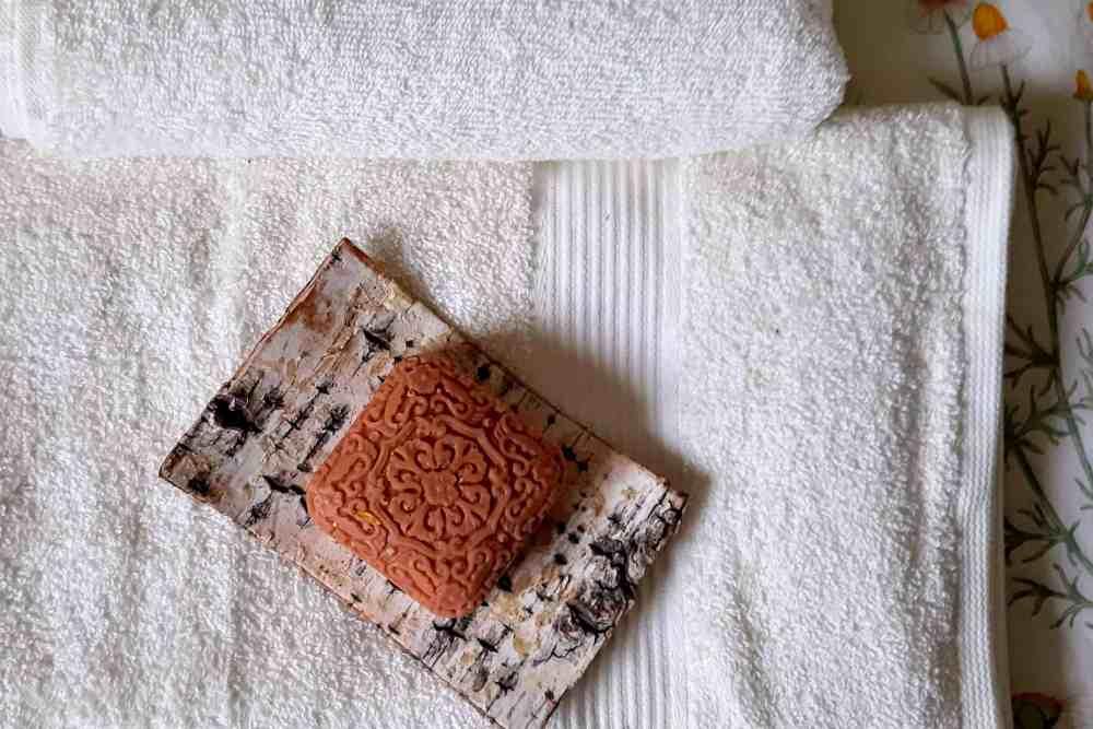 organic soap of hoopoe glamping skadar lake montenegro